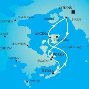 Krstarenje ostrvima – Eginom, Porosom i Hidrom