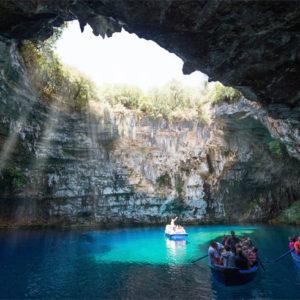 kefalonia caves